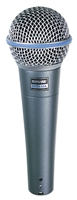 Shure Beta 58A</br>Dynamic Vocal Microphone
