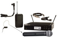 Shure BLX Rackmountable Wireless Microphone System