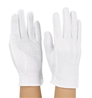 Cotton Beaded Gloves - Standard Length