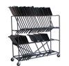 Double Decker Music Stand Cart