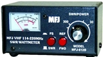 MFJ-812B VHF SWR-Watt Meter - 144 and 220Mhz - 30/300 Watts