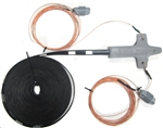 Multiband Dipole for 80 - 10m with 450 Ohm Ladder Line