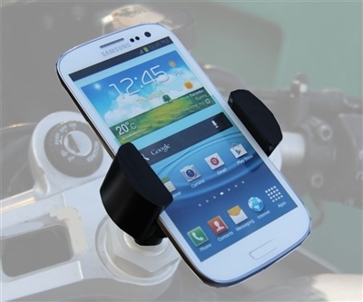 Motorcycle Cell Phone Fork Tube Mount