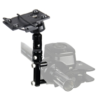 Harley-Davidson and Metric Motorcycle Control Mounting Kit for Radar Detectors