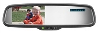 Radar Detector Rear View Mirror Display