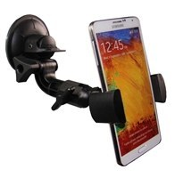 SuperSuck Cell Phone & GPS Suction Cup Mount