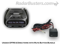 Uniden DFR6 & Hardwire Kit with Mute Button