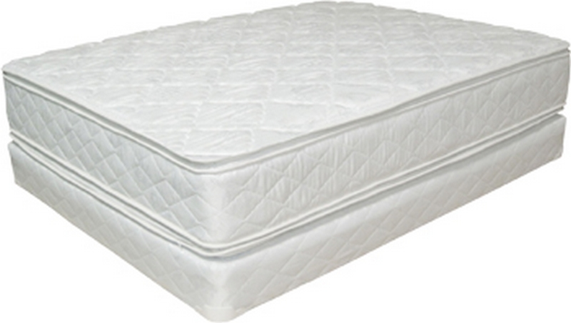 Queen Double Pillow Top Mattress Set