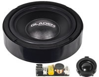 Gladen Audio ONE Golf 4 2 way Components