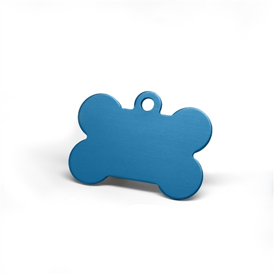 Large and mini dog bone pet tags in multiple colors