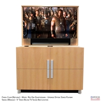 modern tv lift cabinets | contemporary pop-up tv cabinets