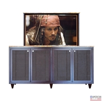 traditional owasso tv lift cabinet