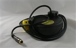 Retractable XLR Microphone Audio Cable Reel 10 foot by Lightcast