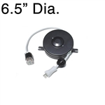 D201089-1 Medical Grade Black Retractable Cable Reel