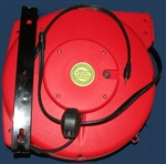 Retractable Speakon Stereo Audio Cable Reel - 100' foot - Audio Reels - Audio Reels by Lightcast