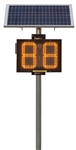 Radar Speed Sign - Radar Speed Sign - Fixed Pole Mount Solar powered  - Call for new price promotions,  shipping, options, add-ons and other versions of this sign