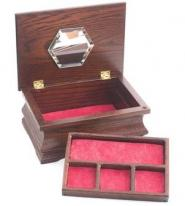 Cherry Hardwood Girls Jewelry Box