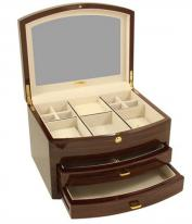 Medium Sized Wooden Jewelry Box