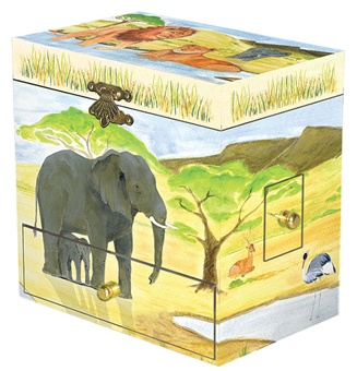 Children's Music Box with Dancing Elephant. Plays Baby Elephant Walk