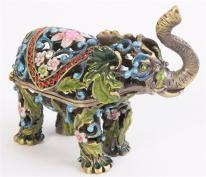 Parade Elephant Trinket Box