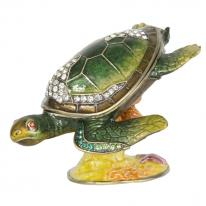 Reef Dweller Turtle Trinket Box