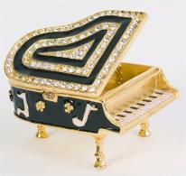Baby Grand Piano Trinket Box