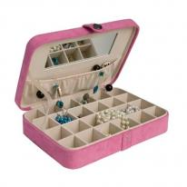 Pink Earring Jewelry Box,Jewelry Storage,Earring Case Mele 545-23