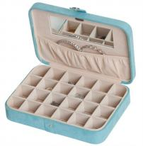 Jewelry Organizer Storage Box and Earring Case