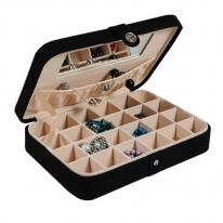 Jewelry Storage Box, Earring Cufflink Case, Mele Renee 545-F06 545-62