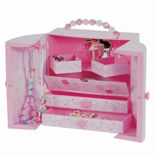 Pink Musical Ballerina Box