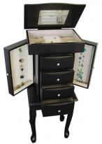 Black Java Jewelry Armoire