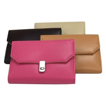 Purse Style Leather Travel Jewelry Keeper