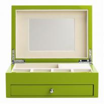Granny Smith Jewelry Box with High Gloss Finish