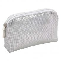 Bedazzle Small Silver Jewelry Pouch