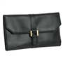 Stylish Jewelry Travel Clutch Purse with Buckle
