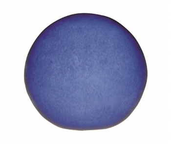 "12"" Glazed Orb - Falling Blue"