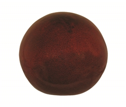 "12"" Glazed Orb - Tropical Red"