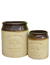 S/2 Farmhouse Cider Jugs