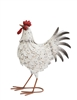 Metal Chicken - White