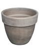 Levante Pot Cover Dark Marbled Clay (Click for Sizes and Pricing)