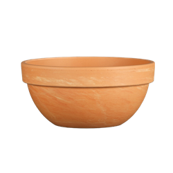Levy Bowl Light Marbled Clay