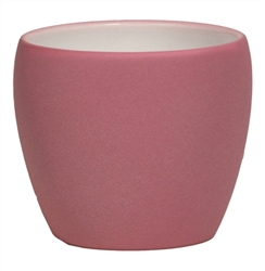 Round Powder Coated Pot - Textured Finish
