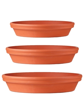 Waterproof Clay Saucer (Click for Sizes and Pricing)