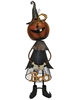 Pumpkin Witch Figurine