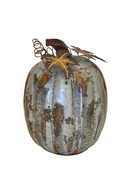 Decorative Metal Pumpkin