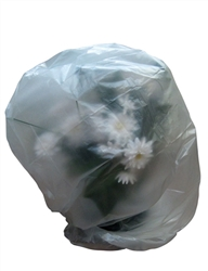 "40""w x 48""h Large Plant Bags - Clear"
