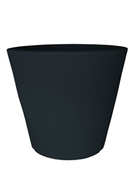 Low Linea Pot - Black