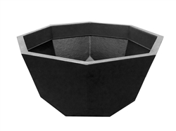 Octagon Bowl - Black