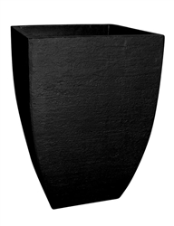 Square Modern Poly Pot - Black (Click for Sizes & Pricing)