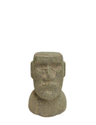 Easter Island Textured Olde World Figurine (No Planter Opening)